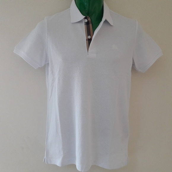 Burberry Other - BURBERRY LONDON MEN`S WHITE POLO LARGE COTTON